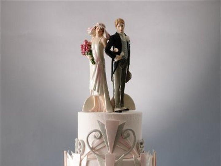 Tmx 1272432599713 Artdecocake Saint Louis wedding cake