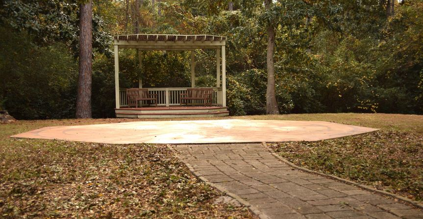 Our beautiful outdoor gazebo