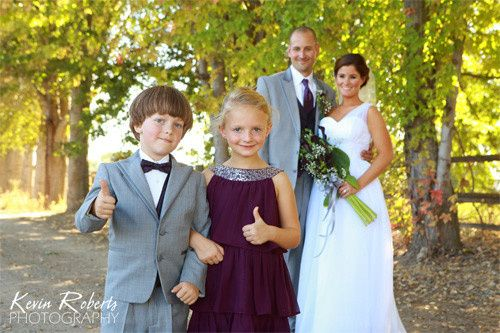 wedding party boise kevin roberts