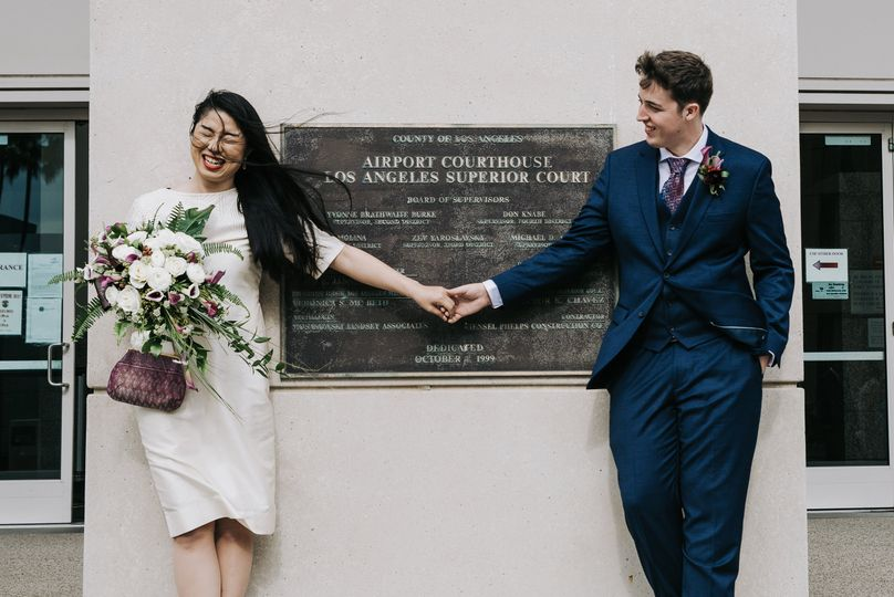 multicultural wedding elopement civil union lax courthouse 51 1002318