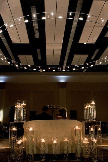Century Center Discovery Ballroom Wedding Reception