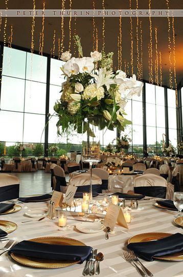 Century Center Great Hall Wedding Reception, Photo by Peter Thurin