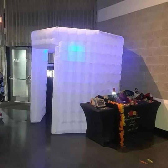 Inflatable Octagon Photobooth