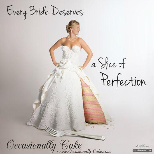 Occasionally Cake - Wedding Cake - Alexandria, VA - WeddingWire