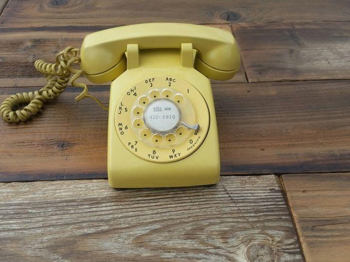 Tmx 1470181614621 Bar Vintageyellow Phone San Jose wedding rental