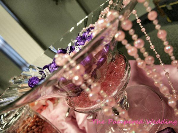 The Pampered Wedding Candy Buffet