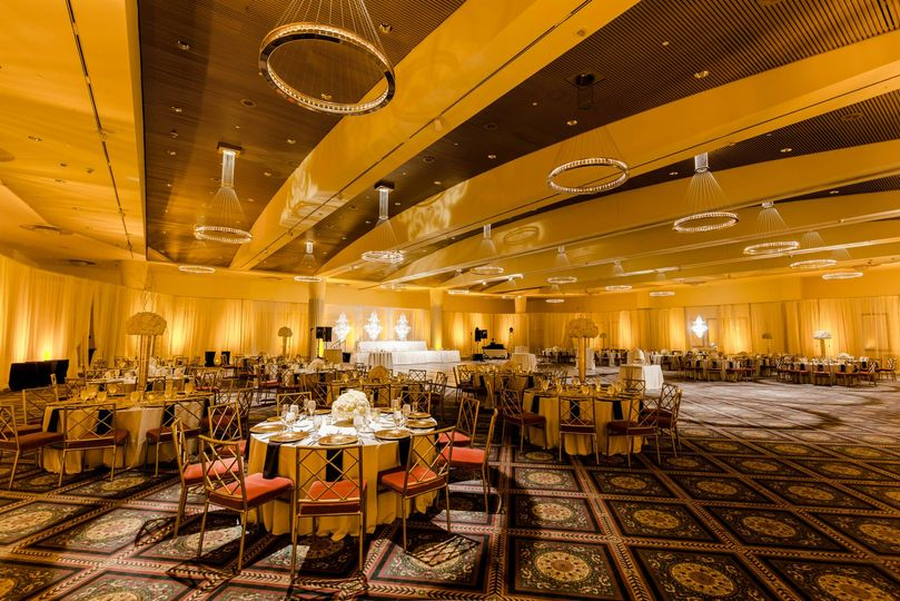 Yellow ballroom
