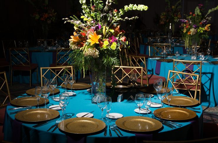 Banquet place setting