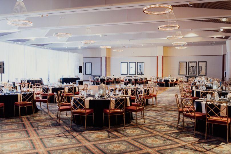 Delightful ballroom