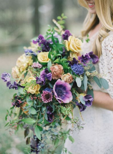 Gold and Purple Palette