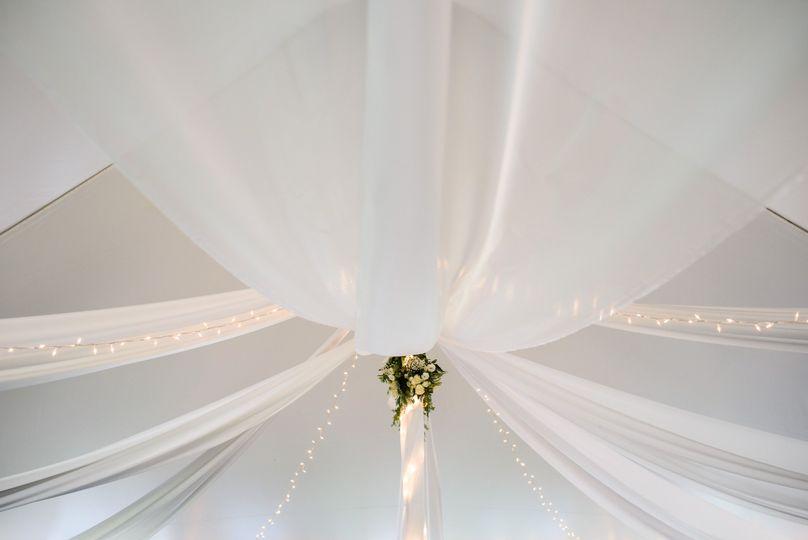 Tent drapes