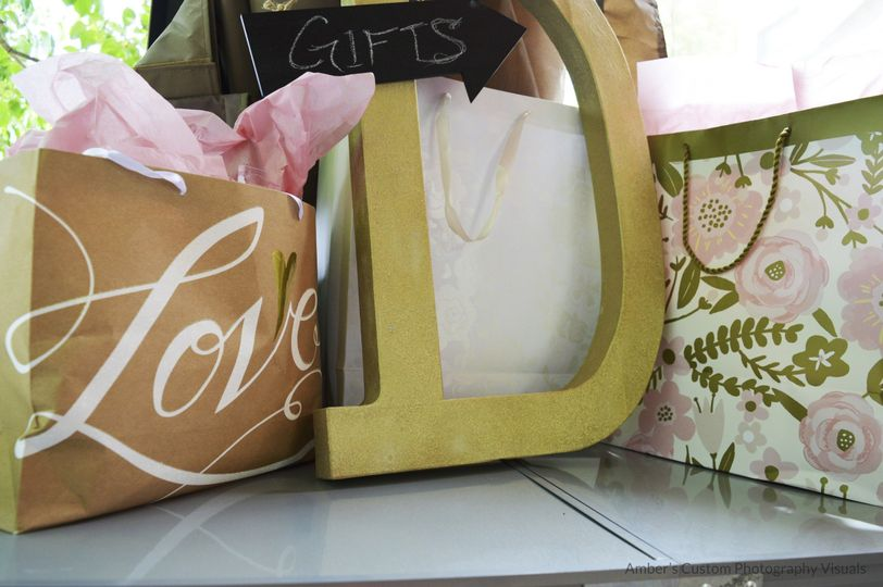 Bags and letter