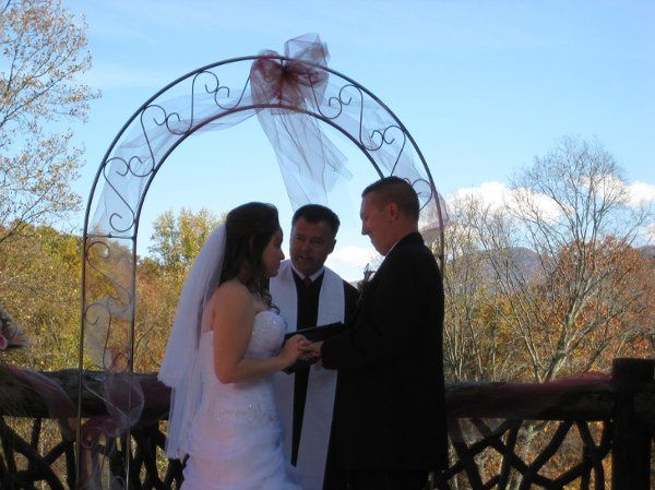 Officiating of the wedding