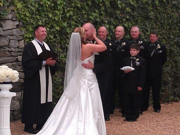 Tmx 1380855369399 Christina And Michael Kiss Dandridge, TN wedding officiant