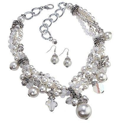 Tmx 1434054517051 6234 Pearlesque Set Lrg Chesapeake wedding jewelry