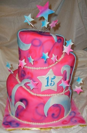 Usher her into adulthood with this wonderful cake.