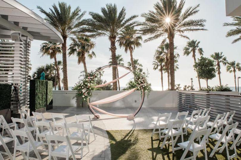 Palm Lawn - Ceremony