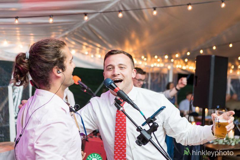 Wedding singer w/ karaoke star