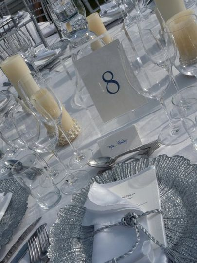Table Numbers + Cards