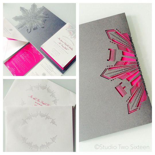 Laser Cuts + Letterpress