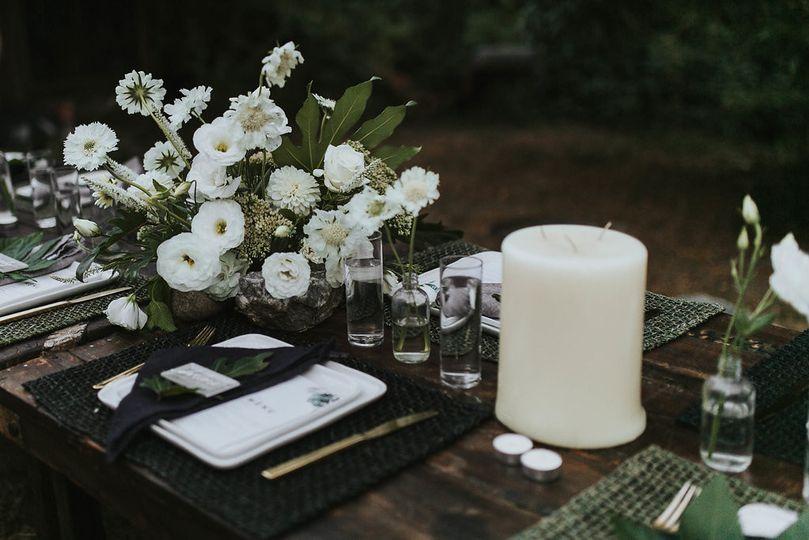 Table setting sample