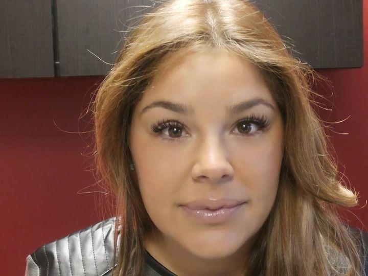 Roxanne Raiola full set of faux mink lash extensions 70 per eye