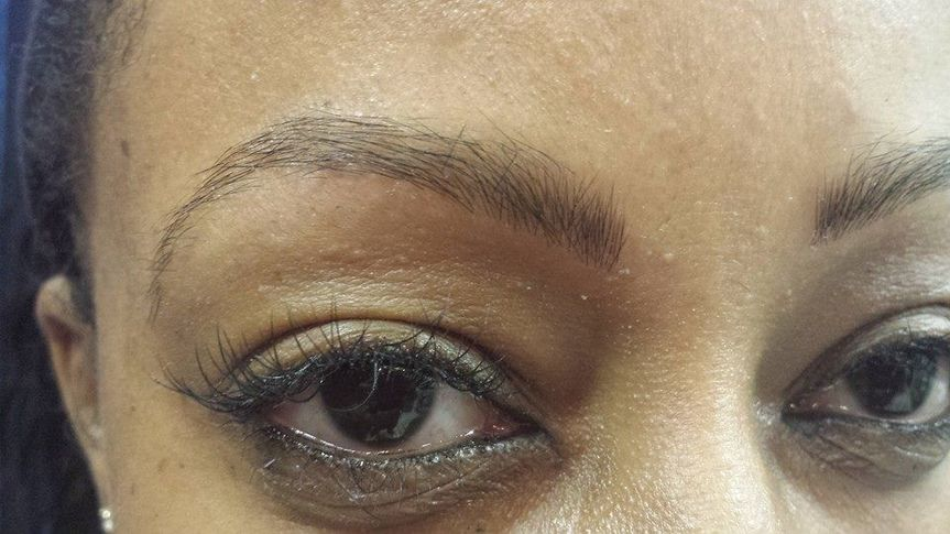 Full eyebrow extension!!!