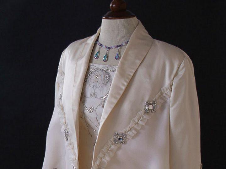 Tmx 1435779124079 Nilahcrystaljacket Havertown, Pennsylvania wedding dress