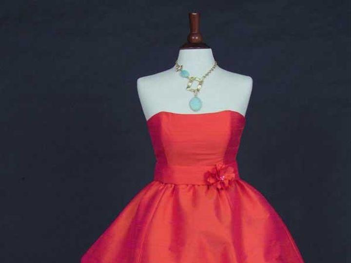 Tmx 1435779209803 Nilahorangebridesmaid Havertown, Pennsylvania wedding dress