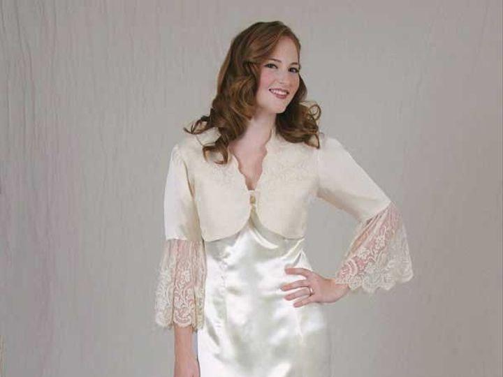Tmx 1436302512522 Nilahvintageweddingjacket Havertown, Pennsylvania wedding dress