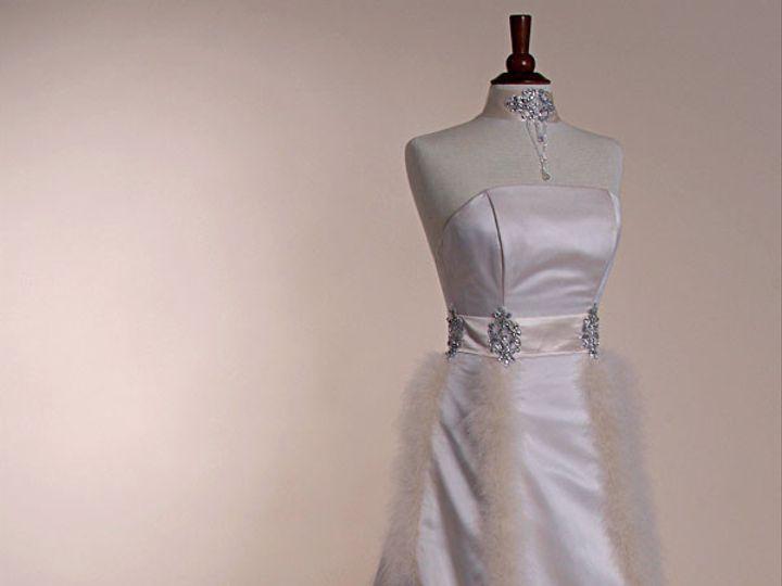 Tmx 1436302620174 Nilahmarabufurfront Havertown, Pennsylvania wedding dress
