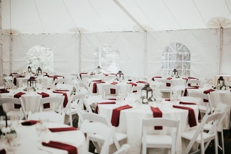 Sailcloth Tent Interior