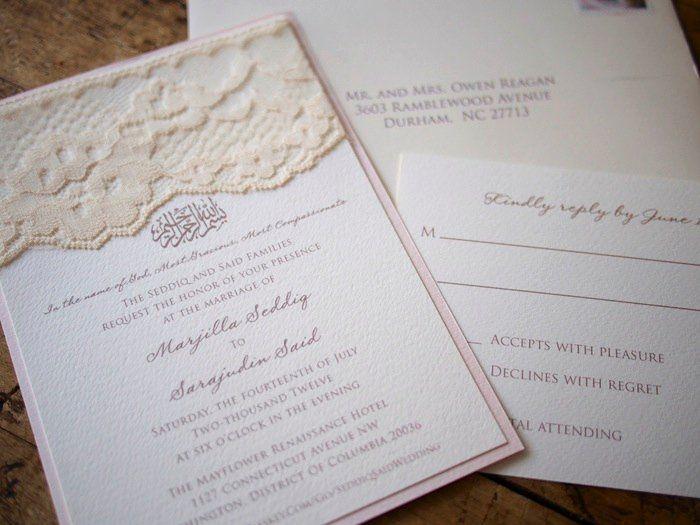 Tmx 1357741620169 SeddiqSetCloseUp Durham wedding invitation
