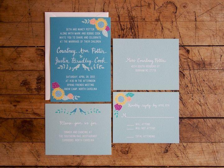 Tmx 1358869377982 PotterCookSet Durham wedding invitation