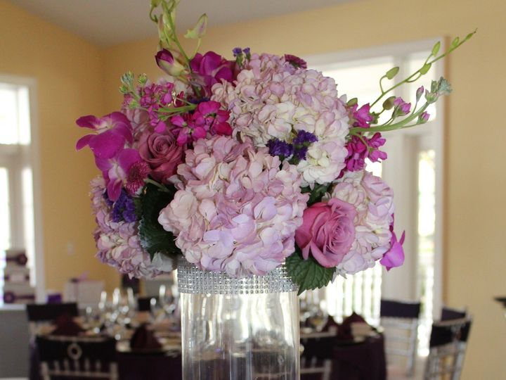 Tmx 1465430064579 Small Purple Centerpiece Tampa, FL wedding eventproduction