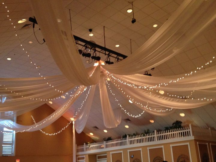 Tmx 1465430995792 Ceiling Drape With Lights At Heritage Spring Tampa, FL wedding planner