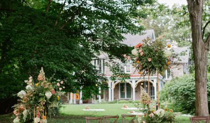 Portico - Awbury Arboretum 1