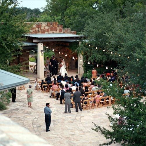 Wedding Places Austin Tx: Lady Bird Johnson Wildflower Center, Wedding Ceremony