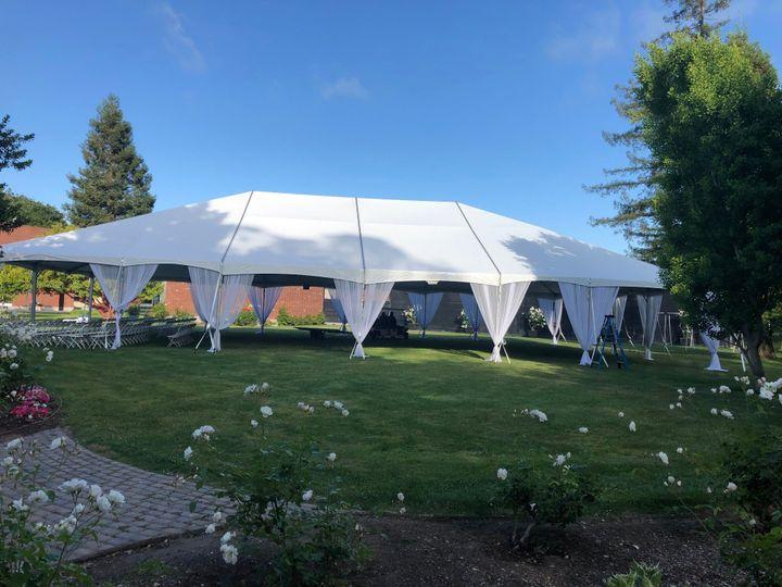 Tmx 50x80 Tent For Graduation 51 46418 1559238219 Menlo Park, CA wedding rental