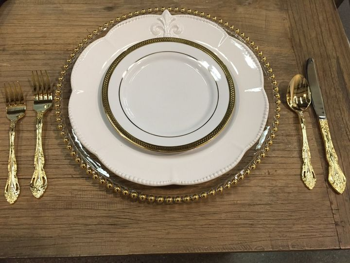 Tmx 1425600865478 Gold Silverware Atascadero wedding rental