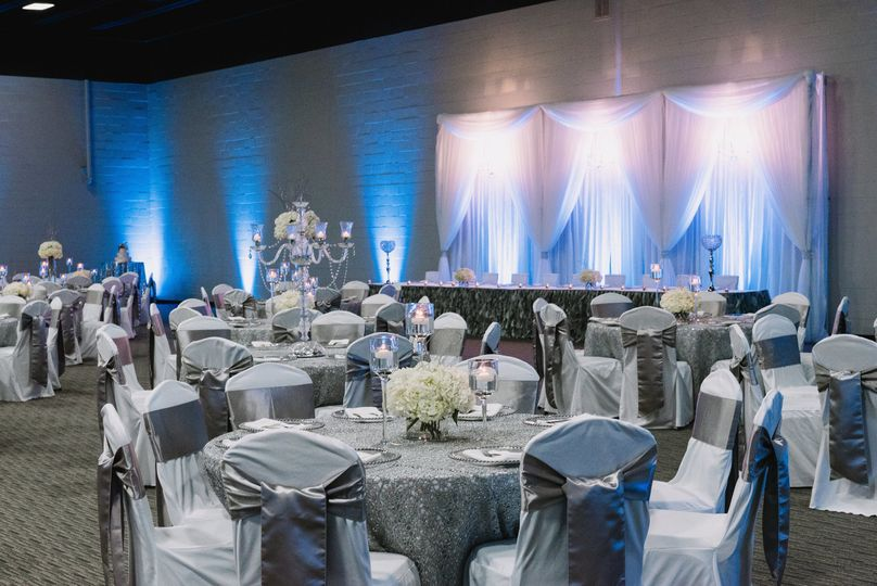 Head table and Guest tables