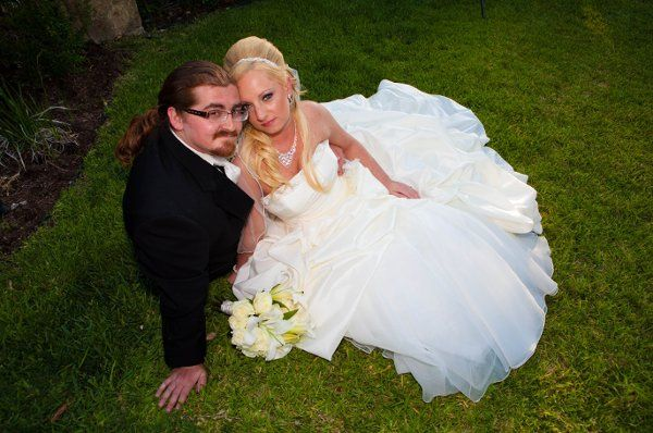 Groom and his bride