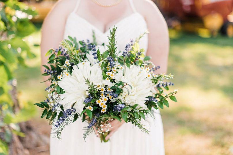 Bridal Bouquet Dahlia