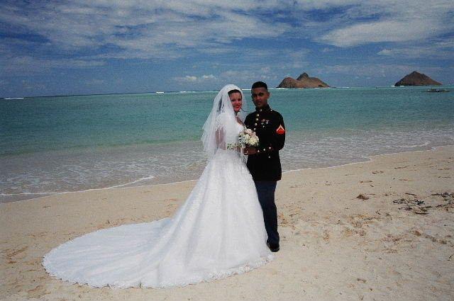 Married by the ocean