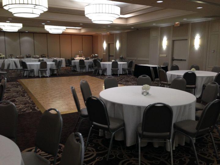 Ballroom 3 sections