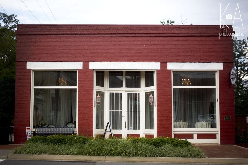 The Corner District's speakeasy-type parlor.
