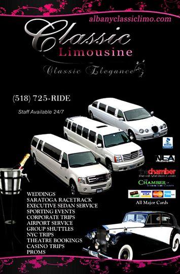 classic limousine brochure
