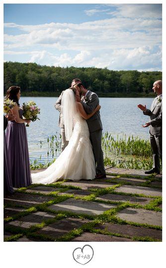 lacawac sanctuary wedding photos 75