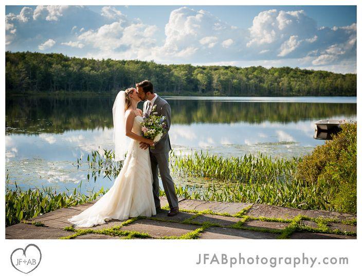 lacawac preserve wedding photos