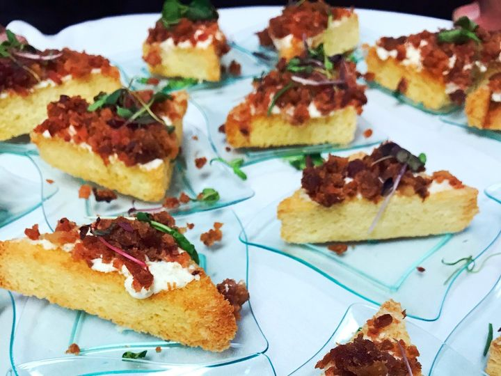 Tmx 1512662356346 Goat Cheese And Bacon Triangles Columbus wedding catering